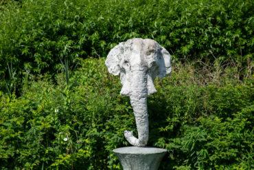 Johannes Brus: Elefantenkopf, (Foto: KUNST@SH/Jan Petersen, 2018)