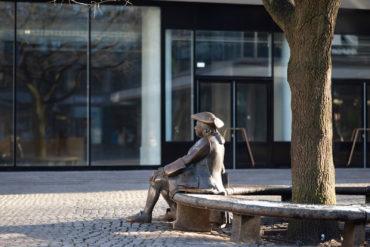 Frauke Wehberg: Denkmal für Asmus Bremer (Foto: KUNST@SH/Jan Petersen, 2018)