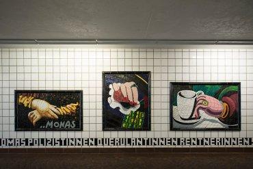 Rolf Laute: Galerie der Hände, (Foto: KUNST@SH/Jan Petersen, 2017)