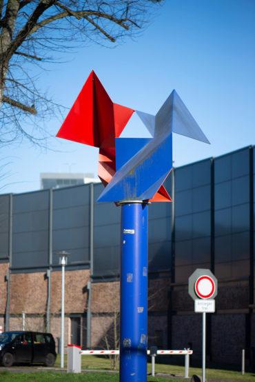 Günter Wiese: Windspiel (Foto: KUNST@SH/Jan Petersen, 2020)
