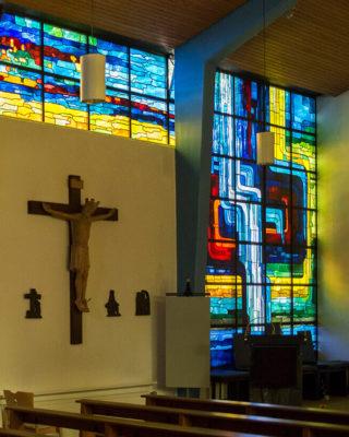 Siegfried Assmann: Kirchenfenster (Foto: KUNST@SH/Jan Petersen, 2017)