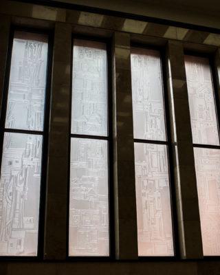 Dagmar Schulze-Roß: Glasschliff-Fenster, (Foto: KUNST@SH/Jan Petersen, 2017)