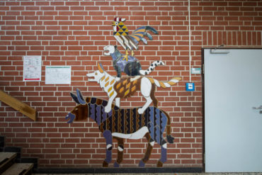 Uwe Bangert: Die Bremer Stadtmusikanten, (Foto: KUNST@SH/Jan Petersen, 2018)