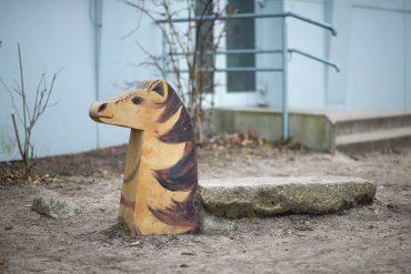 Ines Horch: Vier Pferde (Foto: KUNST@SH/Jan Petersen, 2018)