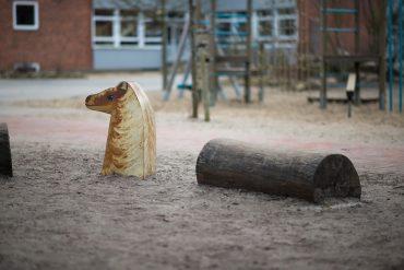 Ines Horch: Vier Pferde, (Foto: KUNST@SH/Jan Petersen, 2018)