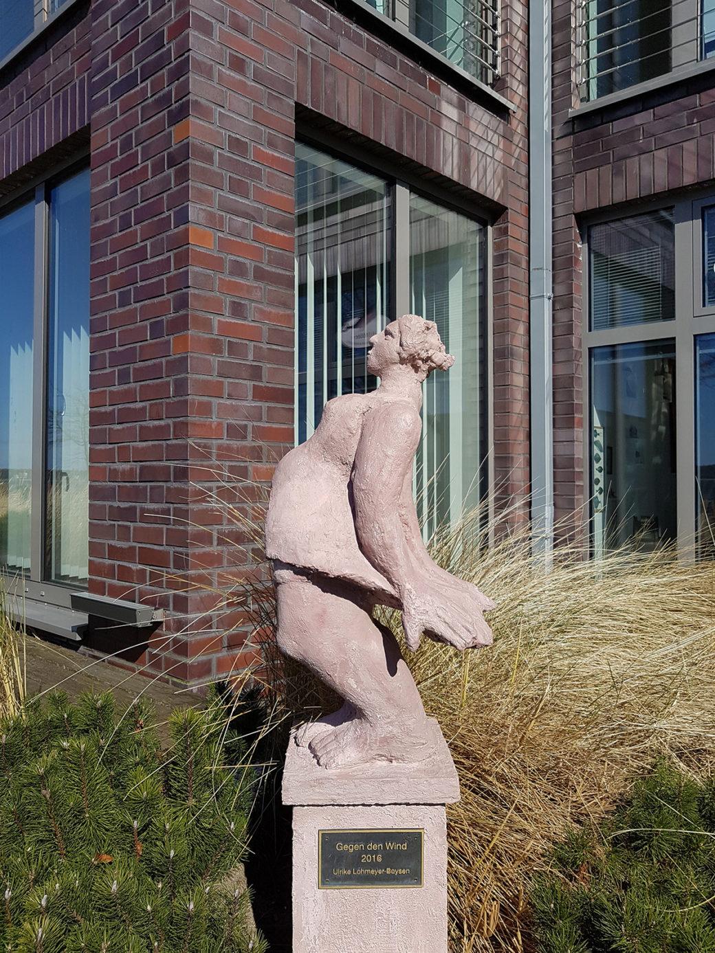 Ulrike Lohmeyer-Boysen: Gegen den Wind, (Foto: KUNST@SH/Jan Petersen, 2018)
