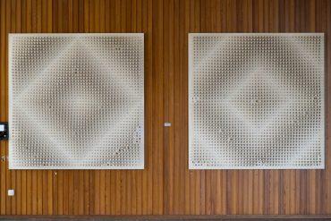 Günter Wiese: Strukturreliefs, (Foto: KUNST@SH/Jan Petersen, 2018)