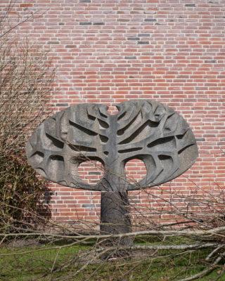 Ulrich Beier: Baum-Blatt-Motiv, (Foto: KUNST@SH/Jan Petersen, 2018)