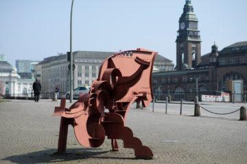 Bernhard Luginbühl: Kleiner Zyklop, (Foto: KUNST@SH/Jan Petersen, 2018)