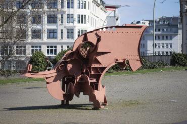 Bernhard Luginbühl: Kleiner Zyklop (Foto: KUNST@SH/Jan Petersen, 2021)