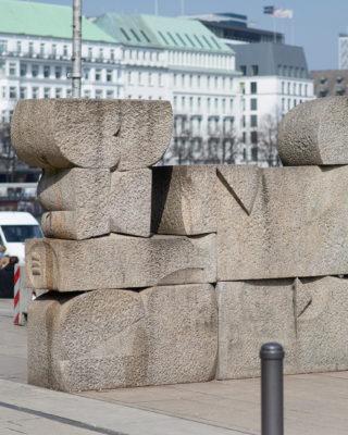Hans Kock: Granitmauer, (Foto: KUNST@SH/Jan Petersen, 2018)
