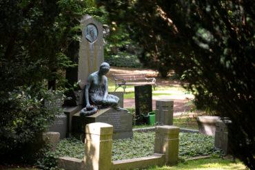 Heinrich Mißfeldt: Grabmal für Johann Meyer (Foto: KUNST@SH/Jan Petersen, 2019)