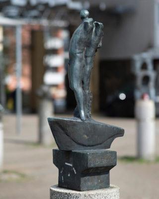 Edwin Scharff: Mann im Boot, (Foto: KUNST@SH/Jan Petersen, 2018)