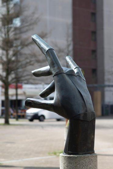 Hans Joachim Frielinghaus: Hand, (Foto: KUNST@SH/Jan Petersen, 2018)