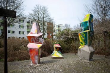 Johannes Ufer: Farbige Plastiken, (Foto: KUNST@SH/Jan Petersen, 2018)
