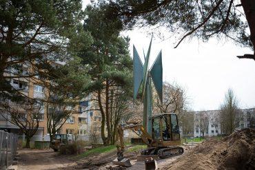 Robert Müller-Warnke: Windmühle (Foto: KUNST@SH/Jan Petersen, 2018)