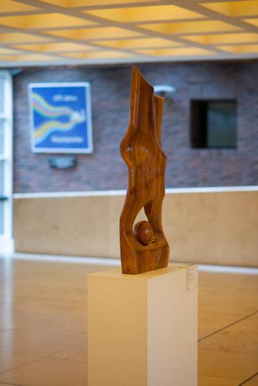 Wilhelm Bühse: Friedensskulptur, (Foto: KUNST@SH/Jan Petersen, 2018)