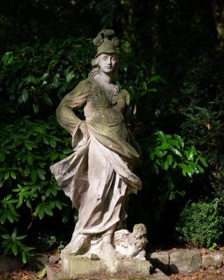 Johann Georg Glume: Athena (Foto: KUNST@SH/Jan Petersen, 2019)