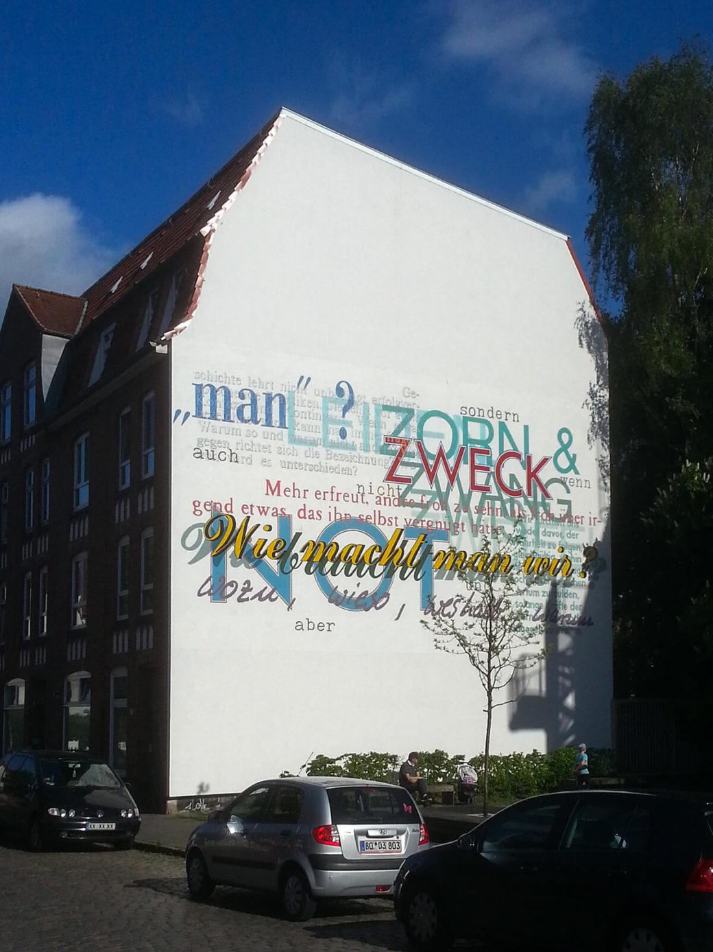 Ludger Gerdes: Wie macht man wir? (Foto: KUNST@SH/Jan Petersen, 2019)