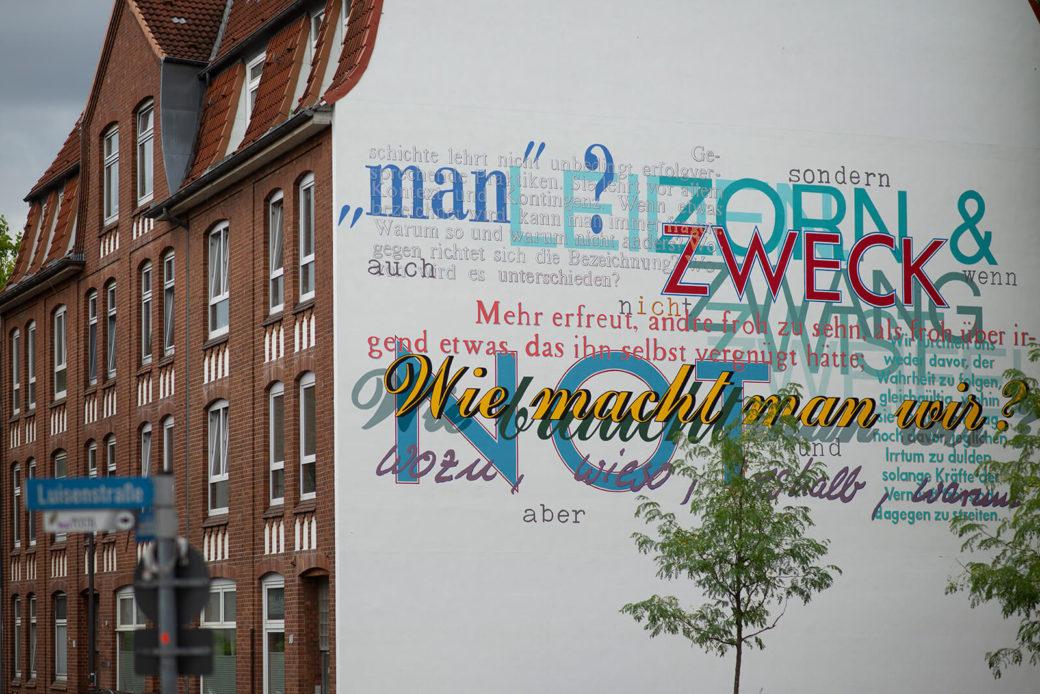 Ludger Gerdes: Wie macht man wir?, (Foto: KUNST@SH/Jan Petersen, 2018)