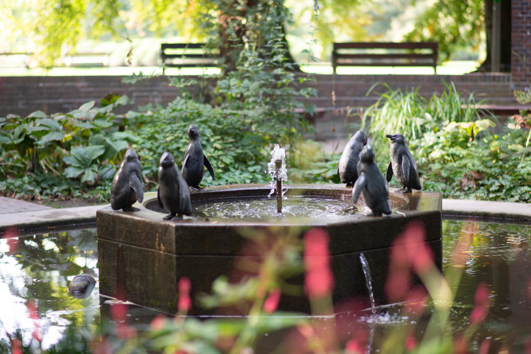 August Gaul: Pinguinbrunnen, (Foto: KUNST@SH/Jan Petersen, 2018)