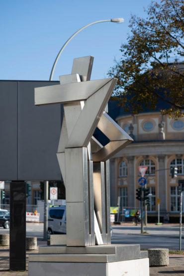 Otto Herbert Hajek: Stadtzeichen, (Foto: KUNST@SH/Jan Petersen, 2018)