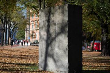 Ulrich Rückriem: Monument für die Deportierten, (Foto: KUNST@SH/Jan Petersen, 2018)
