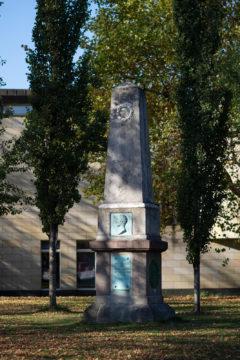 Ernst Matthaei: Büsch-Denkmal, (Foto: KUNST@SH/Jan Petersen, 2018)