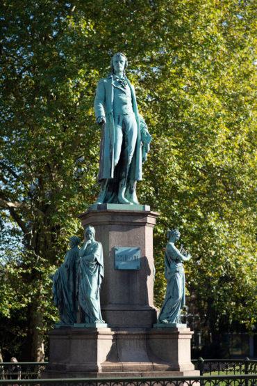 Julius Lippelt: Schillerdenkmal, (Foto: KUNST@SH/Jan Petersen, 2018)