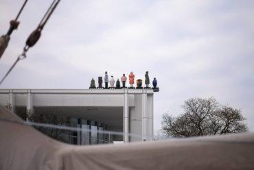 Thomas Schütte: Die Fremden (Foto: KUNST@SH/Jan Petersen, 2019)