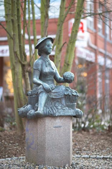 Karlheinz Goedtke: Die Marktfrau (Foto: KUNST@SH/Jan Petersen, 2019)