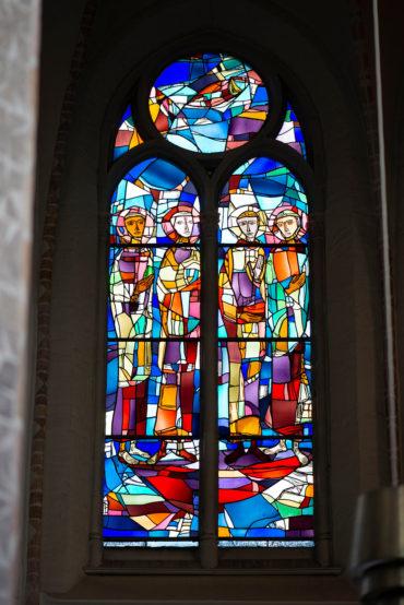 Dagmar Schulze-Roß: Pauluskirchenfenster (Foto: KUNST@SH/Jan Petersen, 2019)