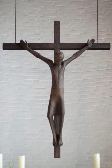 Siegfried Assmann: Kruzifix (Foto: KUNST@SH/Jan Petersen, 2019)