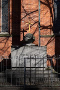 Hermann Joachim Pagels: Kriegerdenkmal (Foto: KUNST@SH/Jan Petersen, 2019)