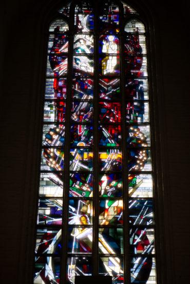 Hans-Gottfried von Stockhausen: Auferstehungsfenster (Foto: KUNST@SH/Jan Petersen, 2019)