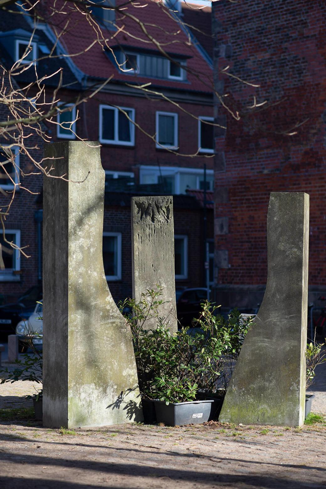 Jan Koblasa: Die drei Nornen (Foto: KUNST@SH/Jan Petersen, 2019)