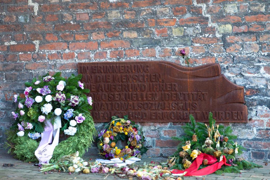 Erich Lethgau: Mahnmal für im Nationalsozialismus verfolgte Homosexuelle (Foto: KUNST@SH/Jan Petersen, 2019)
