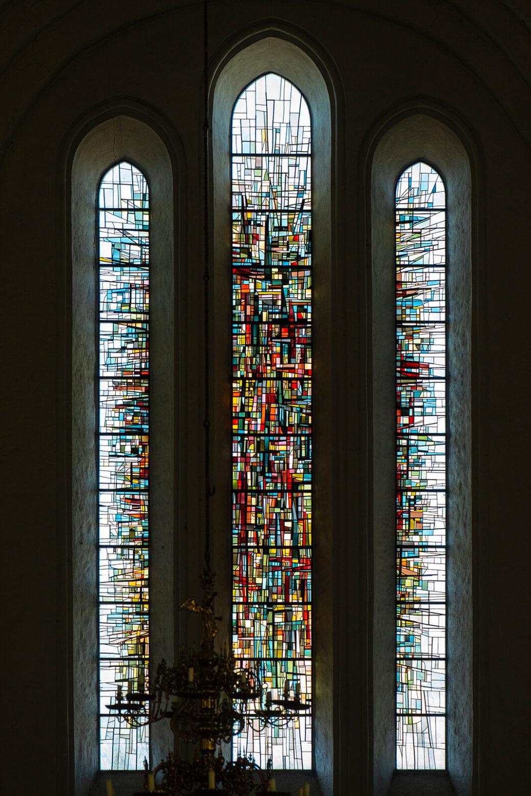 Lothar Quinte: Glasfenster (Foto: KUNST@SH/Jan Petersen, 2019)