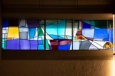 Dagmar Schulze-Roß: Buntglasfenster (Foto: KUNST@SH/Jan Petersen, 2019)