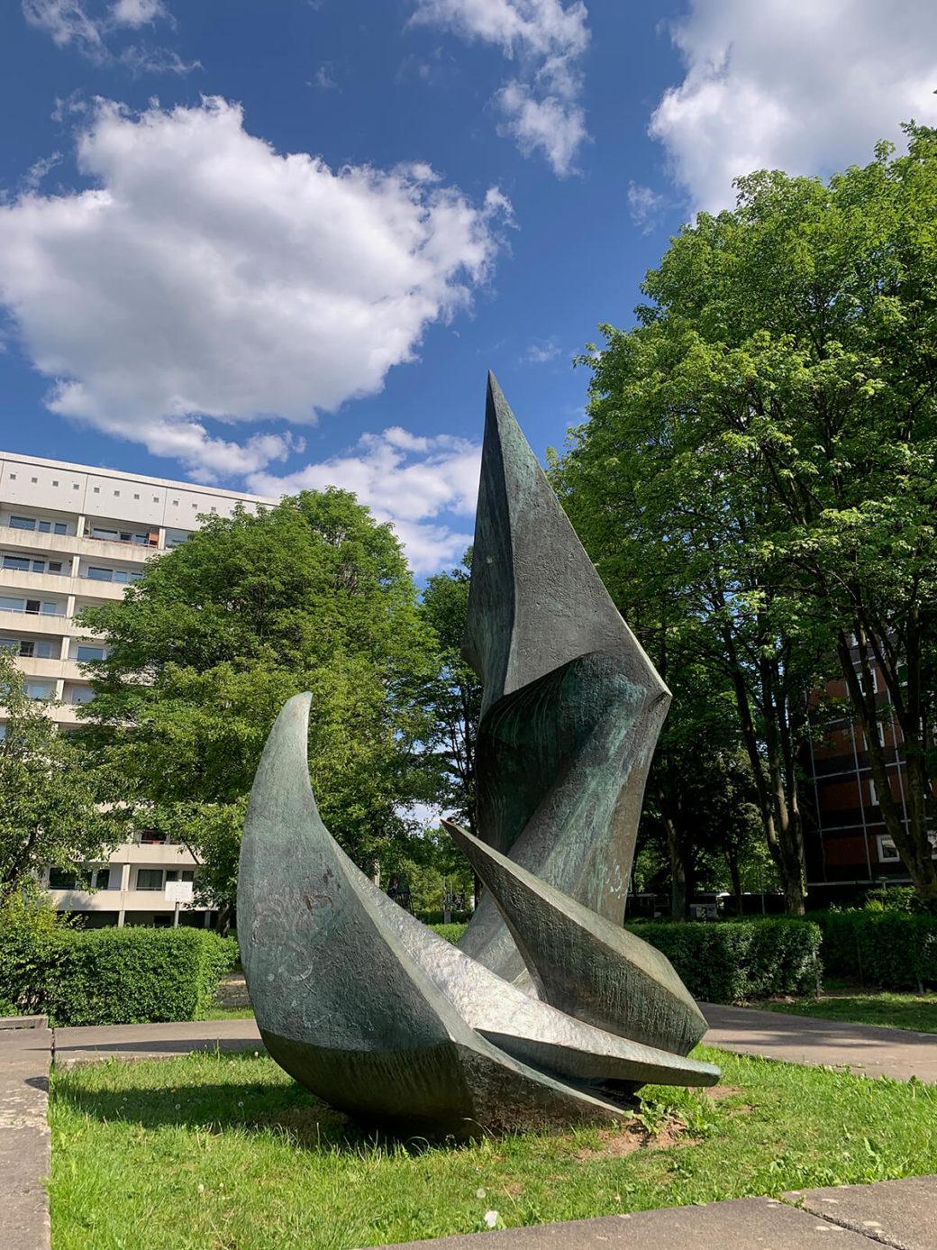 Rudolf Belling: Symbol der Gemeinsamkeit (Foto: KUNST@SH/Jan Petersen, 2020)