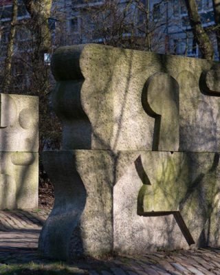 Hans Kock: Granitmauern (Foto: KUNST@SH/Jan Petersen, 2019)