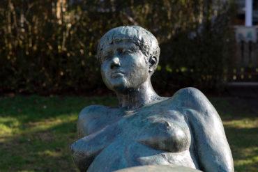 Edgar Augustin: Liegender weiblicher Akt (Foto: KUNST@SH/Jan Petersen, 2019)