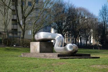 Brigitte Denninghoff & Martin Matschinsky: Skulptur (Foto: KUNST@SH/Jan Petersen, 2019)
