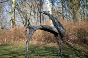 Seff Weidl: Gazelle (Foto: KUNST@SH/Jan Petersen, 2019)