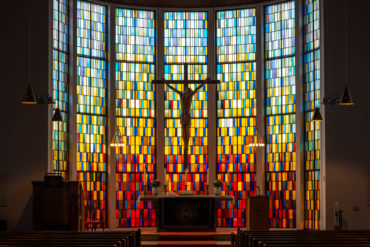 Chorfenster der St. Jürgen Kirche (Foto: KUNST@SH/Jan Petersen, 2019)