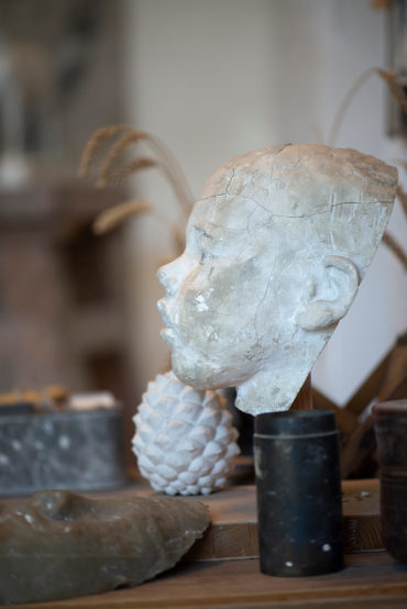 Hans Wimmer: Bildhaueratelier auf Schloss Gottorf (Foto: KUNST@SH/Jan Petersen, 2019)