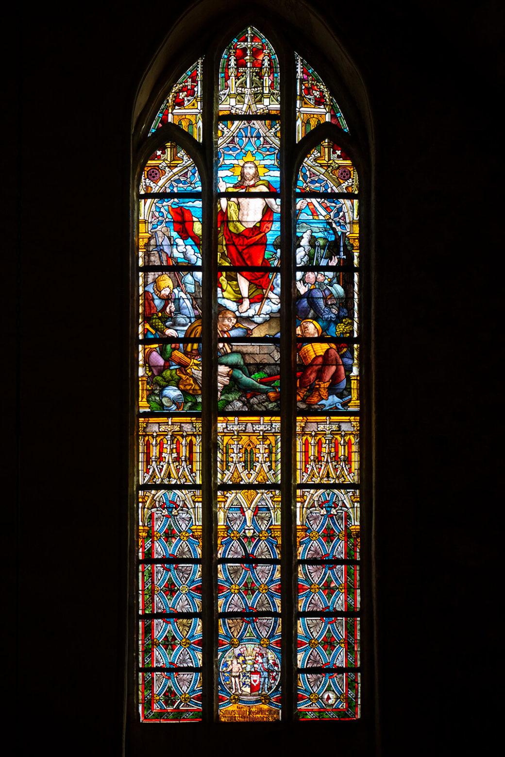 Kreuzigung und Auferstehung im St. Petri Dom (Foto: KUNST@SH/Jan Petersen, 2019)
