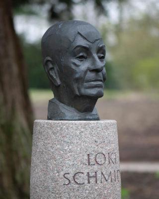 Manfred Silhe-Wissel: Loki Schmidt (Foto: KUNST@SH/Jan Petersen, 2019)