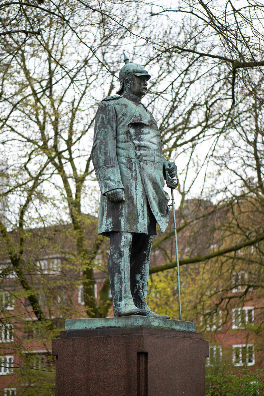 Adolf Brütt: Denkmal für Otto von Bismarck (Foto: KUNST@SH/Jan Petersen, 2019)