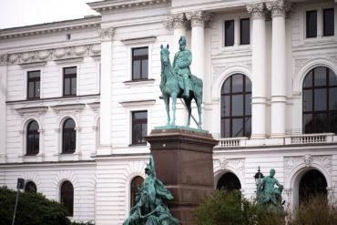 Gustav Eberlein: Denkmal für Kaiser Wilhelm I. (Foto: KUNST@SH/Jan Petersen, 2019)